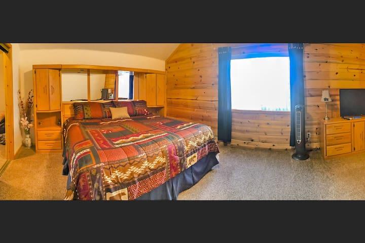 Cal King Master Bedroom.