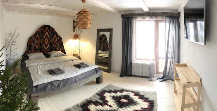 2 floor. Two rooms