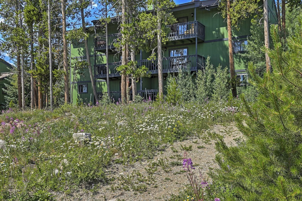 Settled amongst stunning Rocky Mountain landscape, this property provides easy access to ski resorts, restaurants, and shopping.