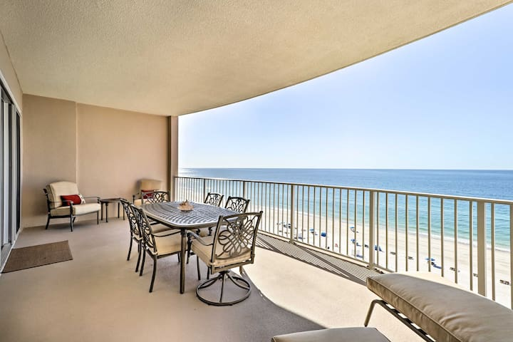 Luxe Beachfront Condo w/Amenities in Orange Beach!