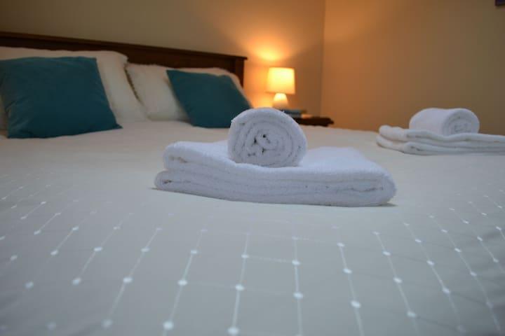 Enjoy a good nights sleep in a comfy bed