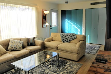 Make yourself at home in this cute and bright apt!