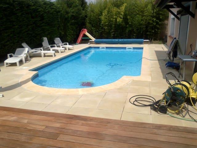 Grande maison à Ramonville avec piscine - Ramonville-Saint-Agne - House
