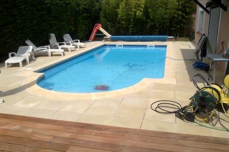 Grande maison à Ramonville avec piscine - Ramonville-Saint-Agne - Casa