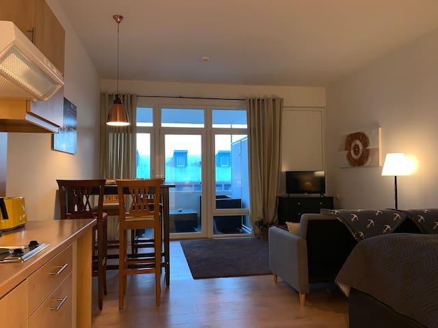 """Haus Mauritius auf Sylt, 1-Zimmerwohnung """"Studio"""""""