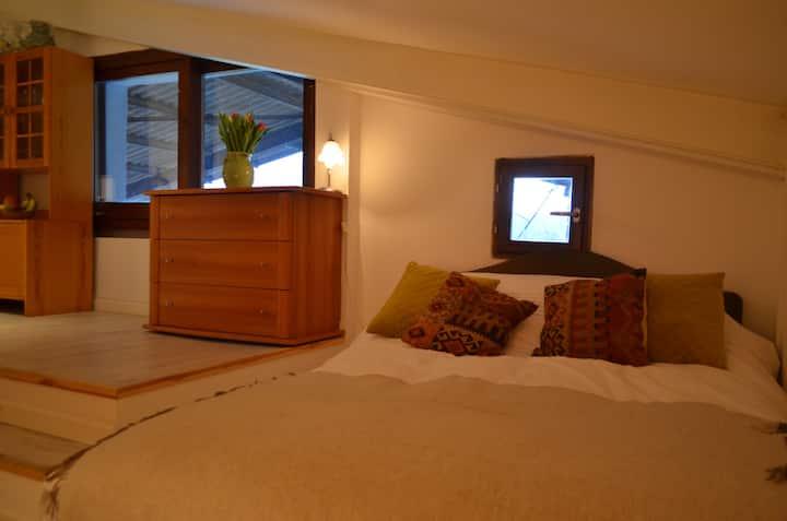 Unique Studio Apartment Overlooking Lake Geneva