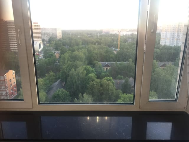 Flat for 4 people (10 min) Arena Spartak Moscow