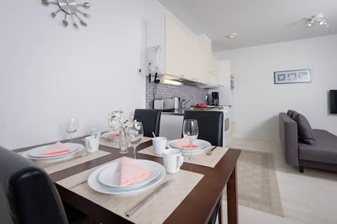 Well-equipped apartment in a quiet location