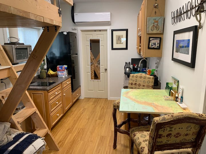 The Bunkhouse Studio with Loft Bed