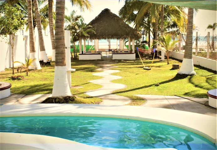 Casa San Blas Matanchen a pie de playa