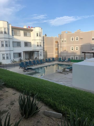 Cabo San Lucas, fully furnished, quiet area, 2 BR