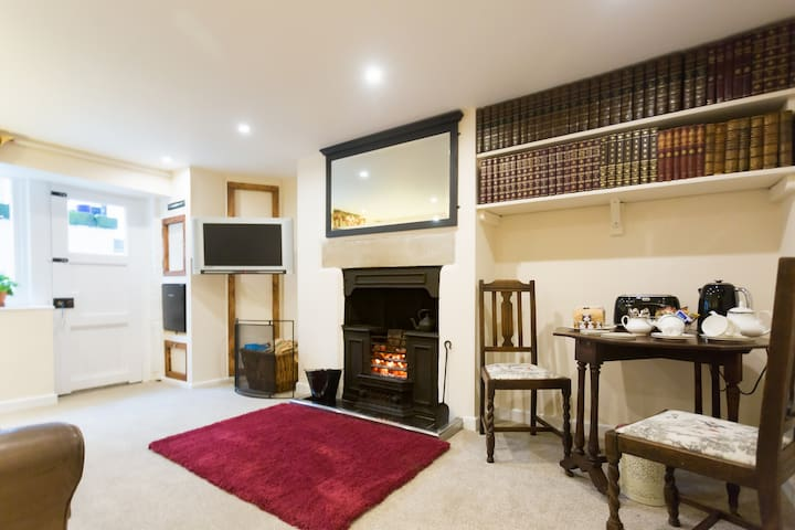 Exclusive cosy basement apartment with open fire - Skipton - Byt