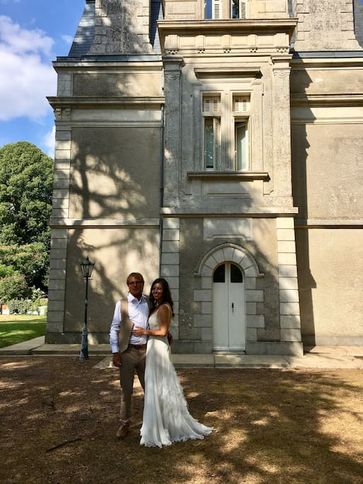 Our first wedding at the chateau.  See more images further down.