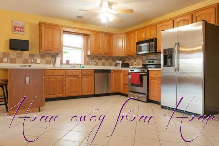 Home Away from Home - 3 Bedroom 2 Bath Apartment!