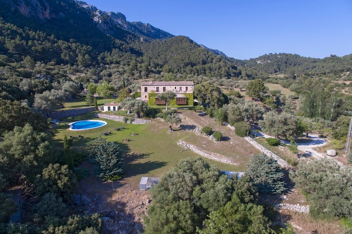 S´Era Vella old finca in the Tramuntana mountains