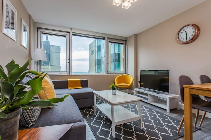 Stellar stay with sea view in Brighton Lanes