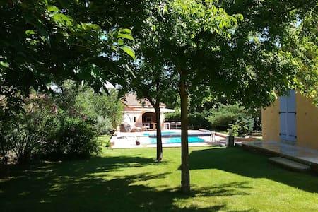 Villa de 146 m2 - Cuisine d'été - Piscine privée - Mornas - Talo