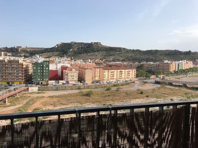 Small flat with awesome views and swimming pool - Sagunt - Apartament