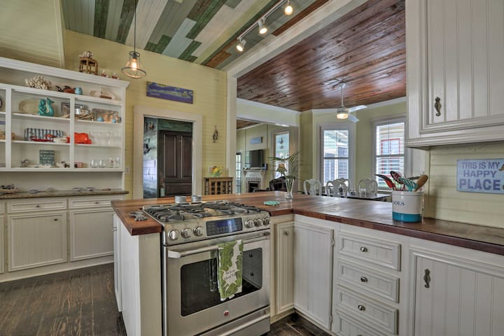 Prepare your favorite recipes in the beautiful, fully equipped kitchen.