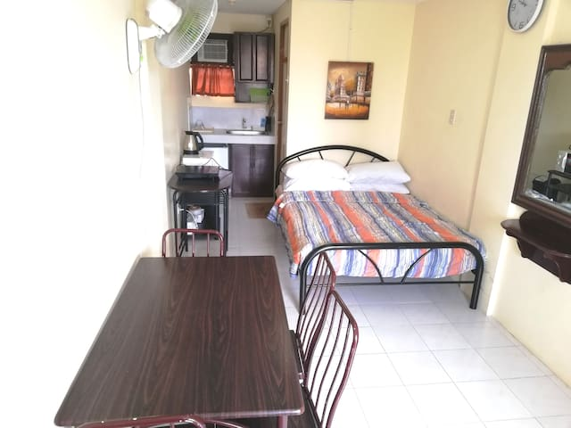 Furnished Cozy Studio Apartment w/ Double Size Bed