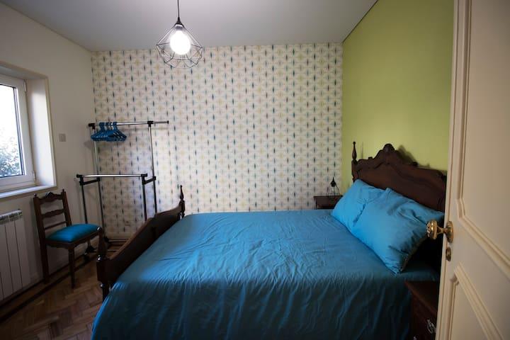 Bedroom #1 (double room)
