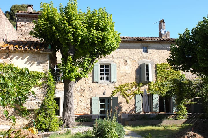 Charming house with lots of authentic elements - Peyriac-Minervois - Talo