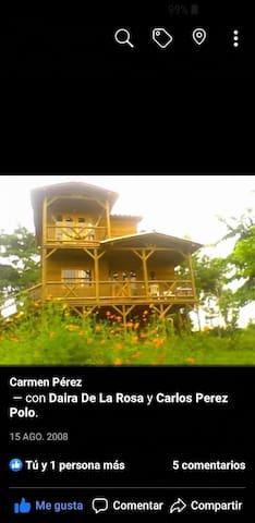 Cabaña campestre disfruta de la naturaleza