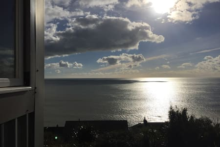 SeaHut, secluded cabin with an amazing view - Downderry - Cabaña