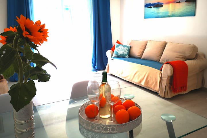 3 bedroom apartment on the Acequion beach + Wifi