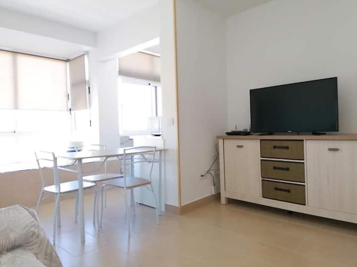 Apartamento con vista 1c