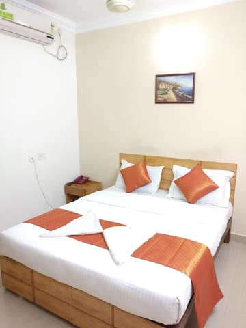 A V Residency - A/C Deluxe Double Rooms