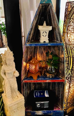 Balinese Boat Cabinet.