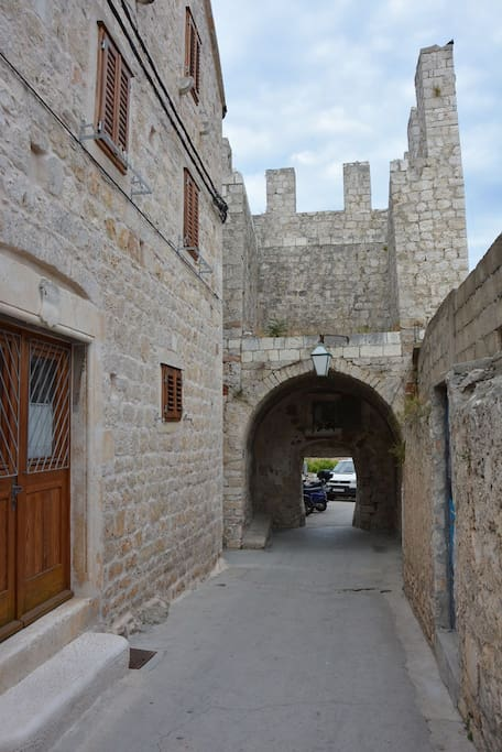 Eastern gates of the old city walls