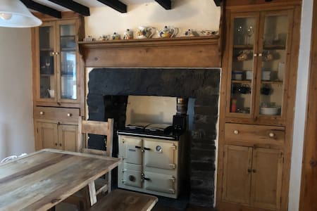 Snowdonia Quarry Managers Cottage.