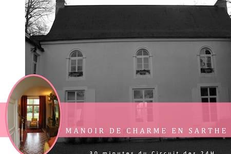 Manoir Les Plantes - La Flèche - Schloss