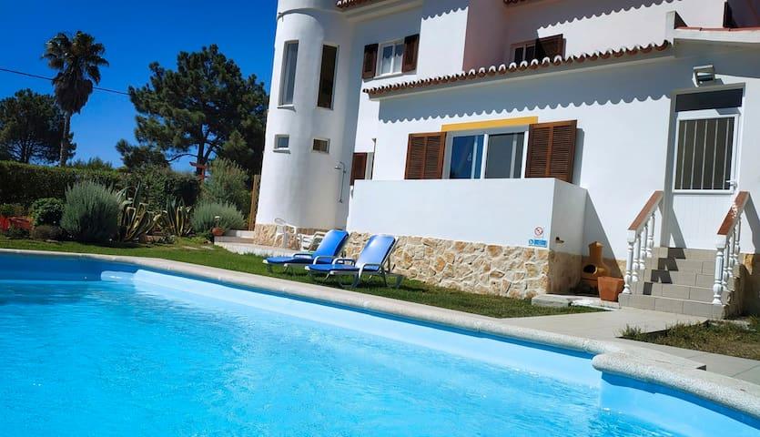 Villa-Sem-Estresse Beautiful villa, pool & gardens