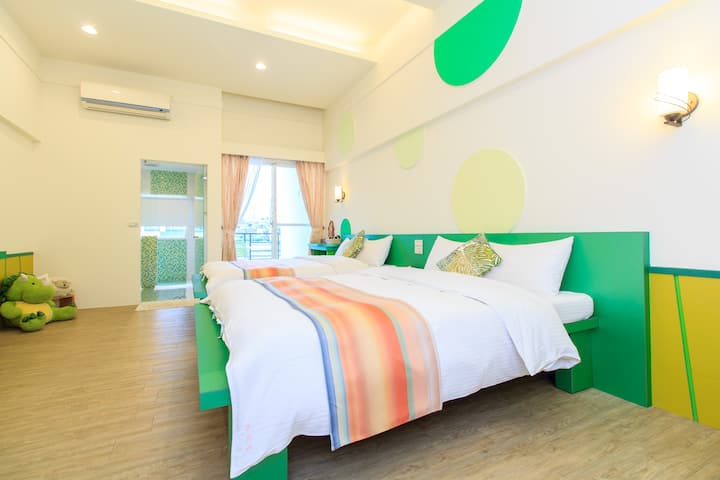 Peaceful and Calm Stay in Ludong