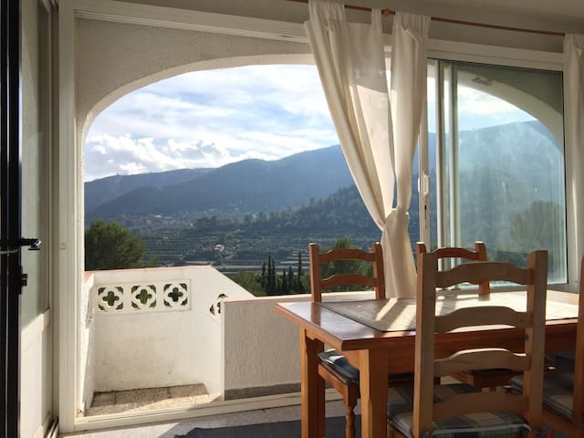 Charming mountain views - Adsubia  - Apartamento