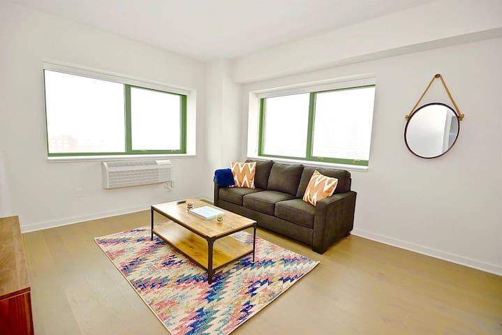Kasa | Jersey City | Spacious 2BD/2BA Apartment