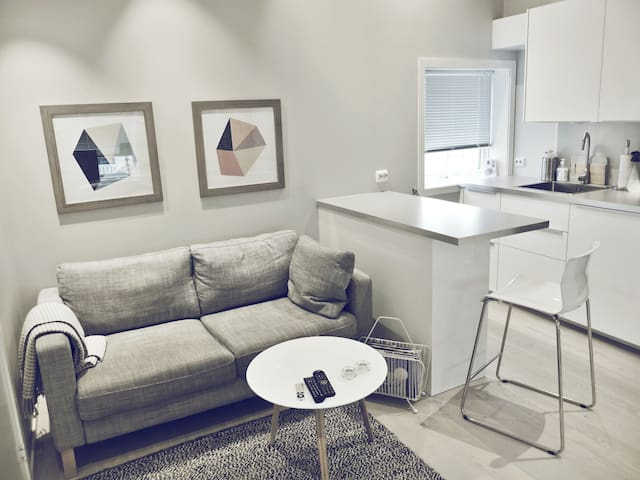 Modern studio downtown Stavanger! - Stavanger - Appartement
