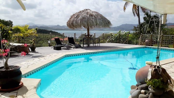 Savana 52 m² , Vue sur mer et grande piscine