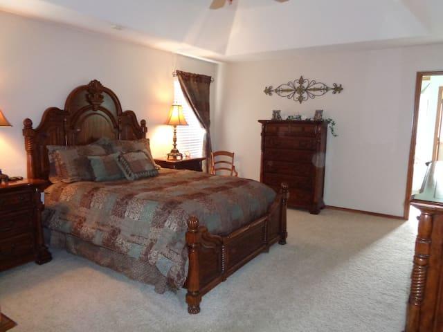 Private and Quiet Master Bedroom Suite
