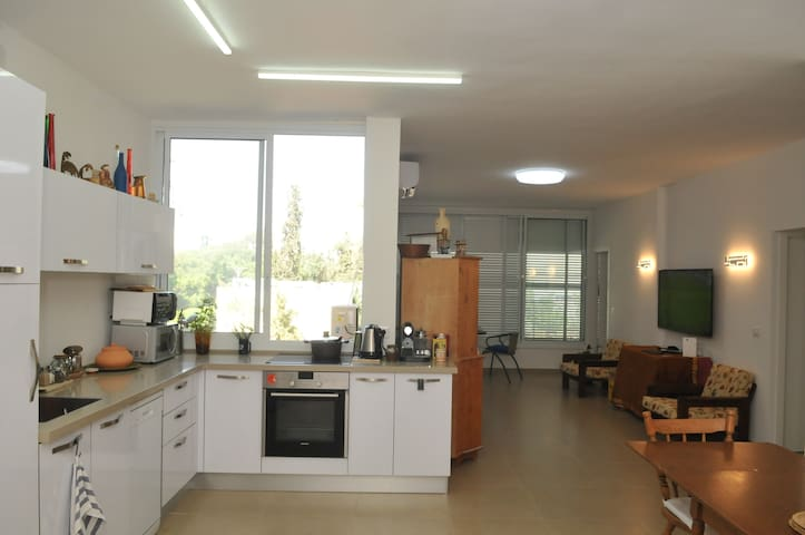 Lovely light filled apartment in Rehovot.