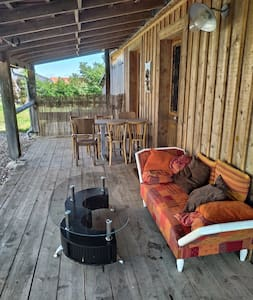 Cabane en bois tout confort