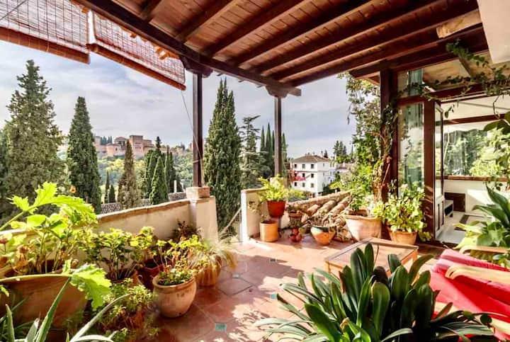 Suite Alhambra con magnificas vista