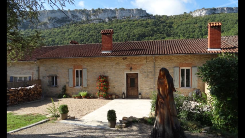 Luxury Gite with Stunning Views. - St Antonin Noble Val - Casa de camp