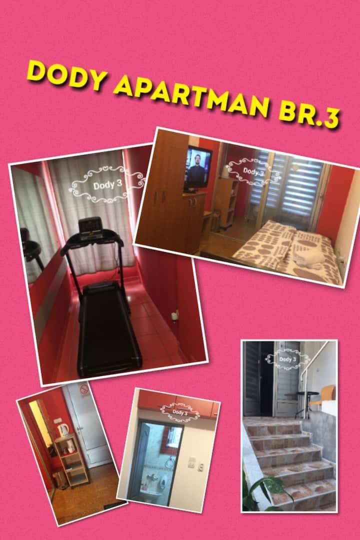 Dody apartmani - Apartman br.3