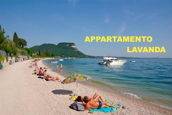 A few meters from 'apartment and the residence is the Garda beach where you can relax, play and have fun, swim
