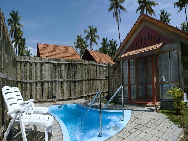 Bamboo Pool Villa at Kumarakom