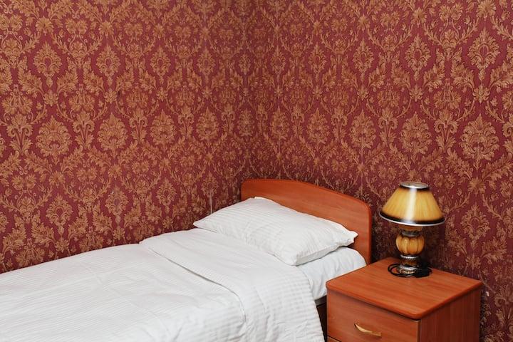 Одноместный номер с односпальной кроватью